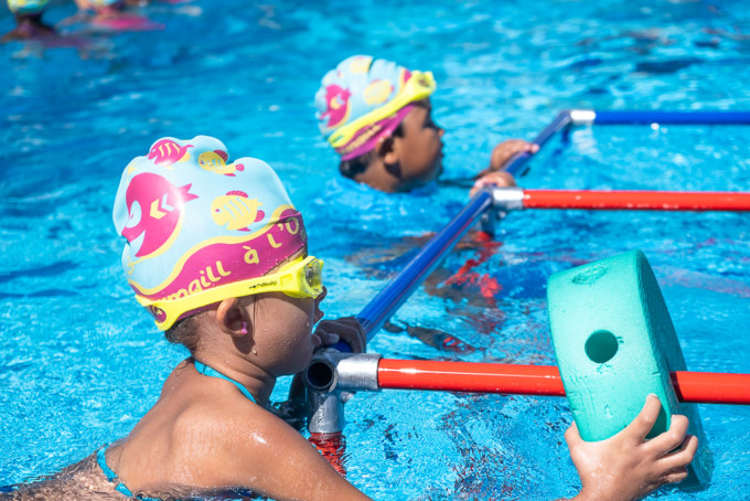 Piscine : plan aisance aquatique