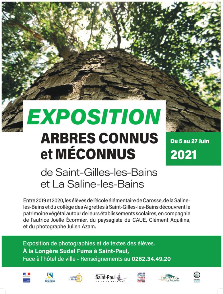 Exposition arbres connus et méconnus