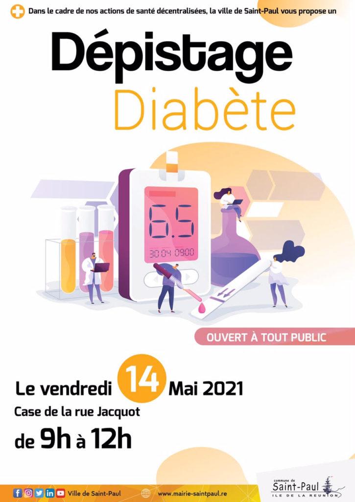 Dépistage Diabète: Rue Jacquot