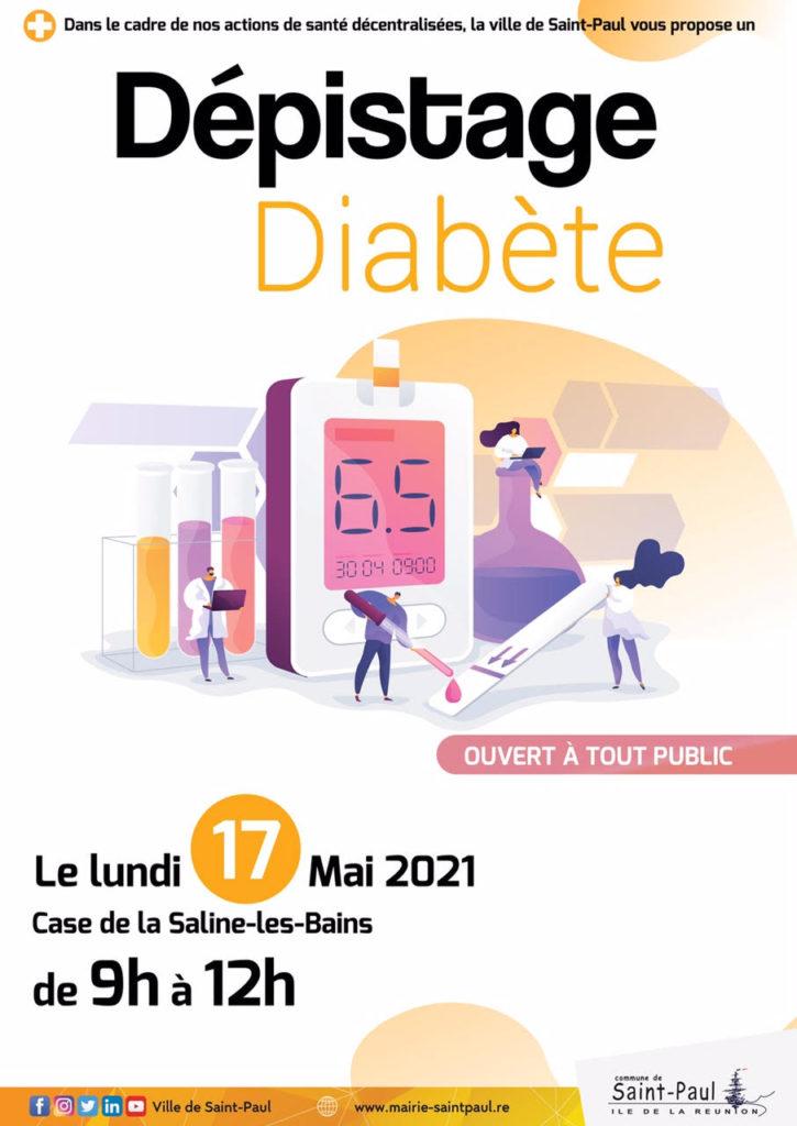 Dépistage Diabète: Saline-les-Bains