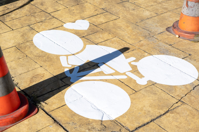 Suivez le Gouzou sur les pistes cyclables de Saint-Paul