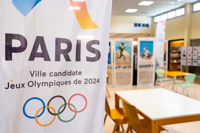 « Il était une fois les Jeux Olympiques » exposé à la médiathèque Leconte-de-Lisle