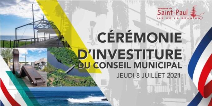 Suivez en direct la cérémonie d'investiture du Maire et du Conseil Municipal