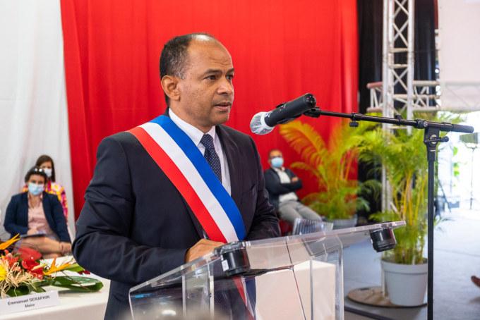 Investiture du Maire Emmanuel SÉRAPHIN