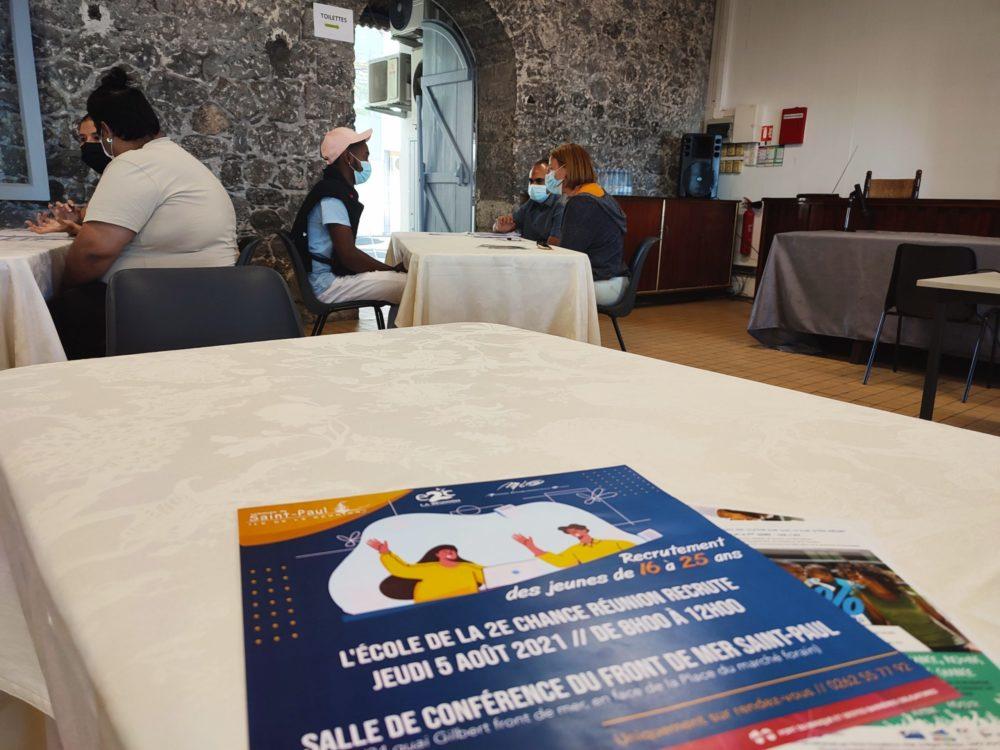 Recrutement à Saint-Paul : une deuxième chance pour nos jeunes en décrochage scolaire