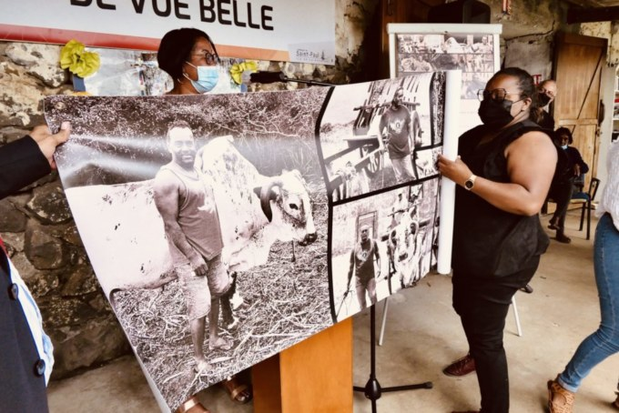 Hommage et émotions à la mémoire de Willy DALAPA AMANA à la Saline