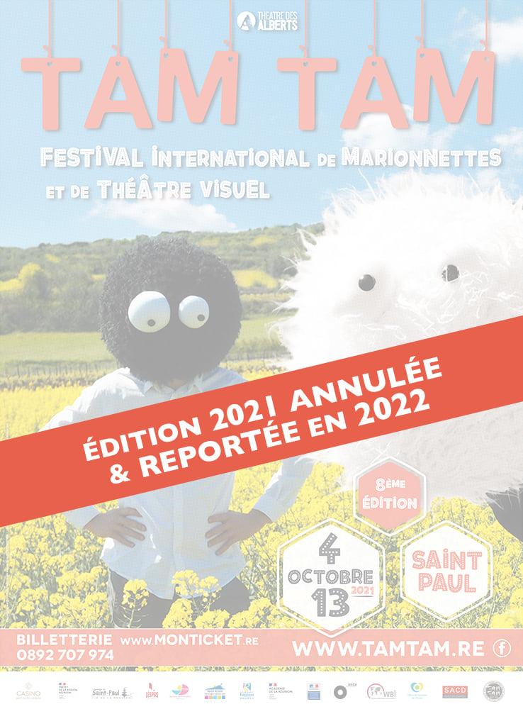 TAM TAM: Festival International de marionnettes et de théâtre visuel reporté