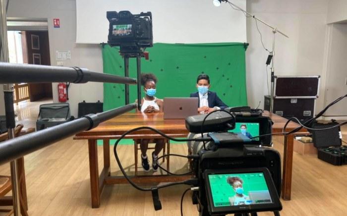 Un journal télévisé présenté par les marmay du CCEJ